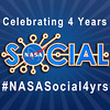#NASASocial4yrs Badge