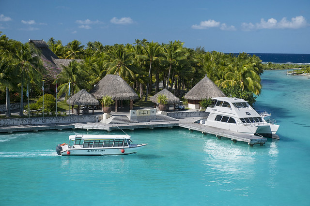 The St. Regis Bora Bora Resort—Exterior - Arrival Area