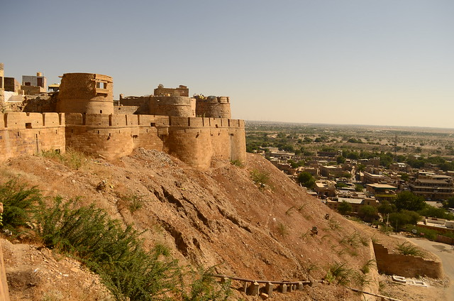 Jaisalmer, Desierto de Thar. India.