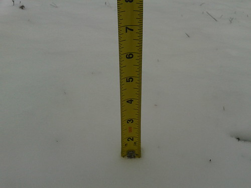Ballston snow total
