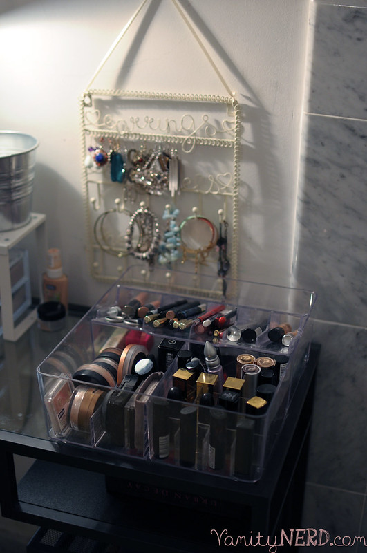 Il mio vanity table di ikea vittsj vanity nerd - Portagioie ikea ...