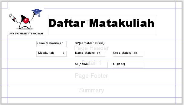 template laporan