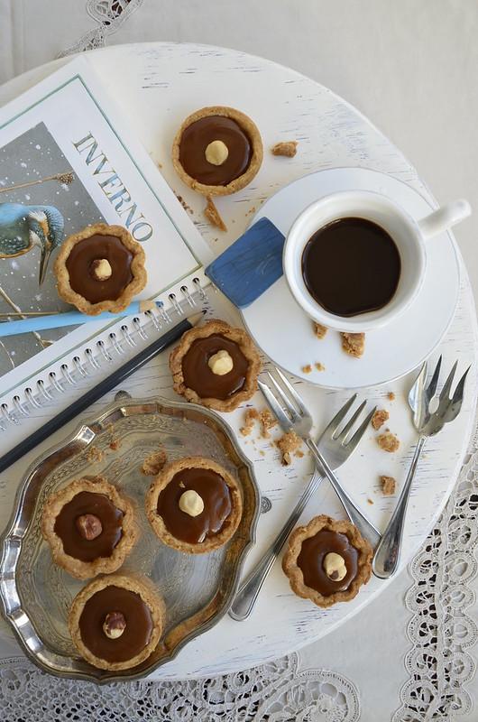 Coffee-Toffee Tartelette