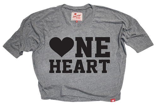 One Heart Shirt - Women's Heart Awareness