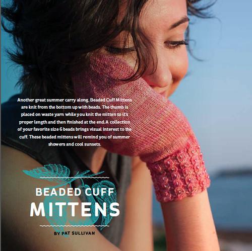 Beaded Cuff Mittens On Holiday