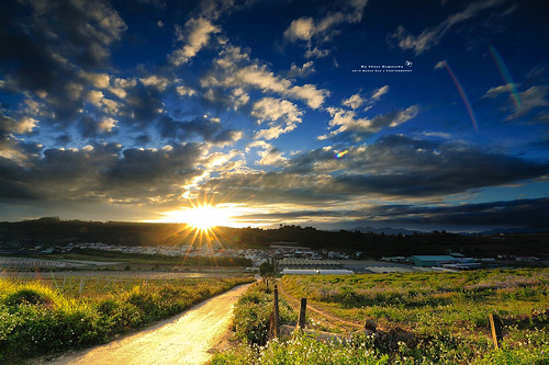 ed landscapes amazing nikon angle g wide taiwan super 夕陽 28 nikkor 台灣 風景 afs puli nantou 夕照 晚霞 黑卡 火燒雲 swm 1424 超廣角 d700 大三元 鏡皇