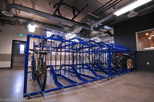 bike parking at Central Eastside Lofts-5