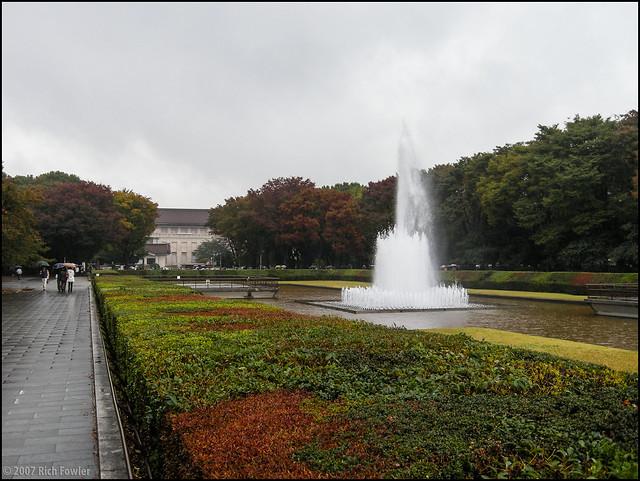 Ueno Park--Fountain