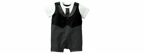 a baby gentleman outfit