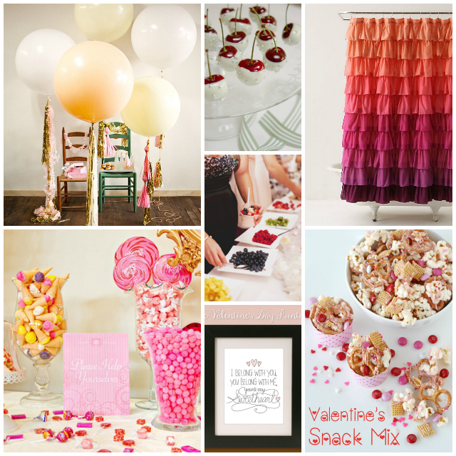 Krystal's Kitsch Valentine's Day Party Ideas