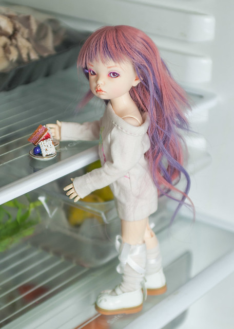 A Doll a day - Thursday - Midnight snack