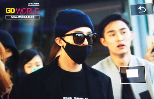 Big Bang - Incheon Airport - 10apr2015 - G-Dragon - GD World - 01