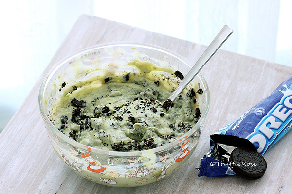 用煉乳做冰淇淋×Oreo 酪梨冰淇淋(免攪拌、免冰淇淋機)-20160817