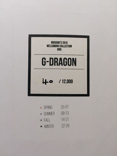 Big Bang - Welcoming Collection - 2015 - yoooouBB - 01