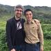 Avec M He, producteur à Jingning