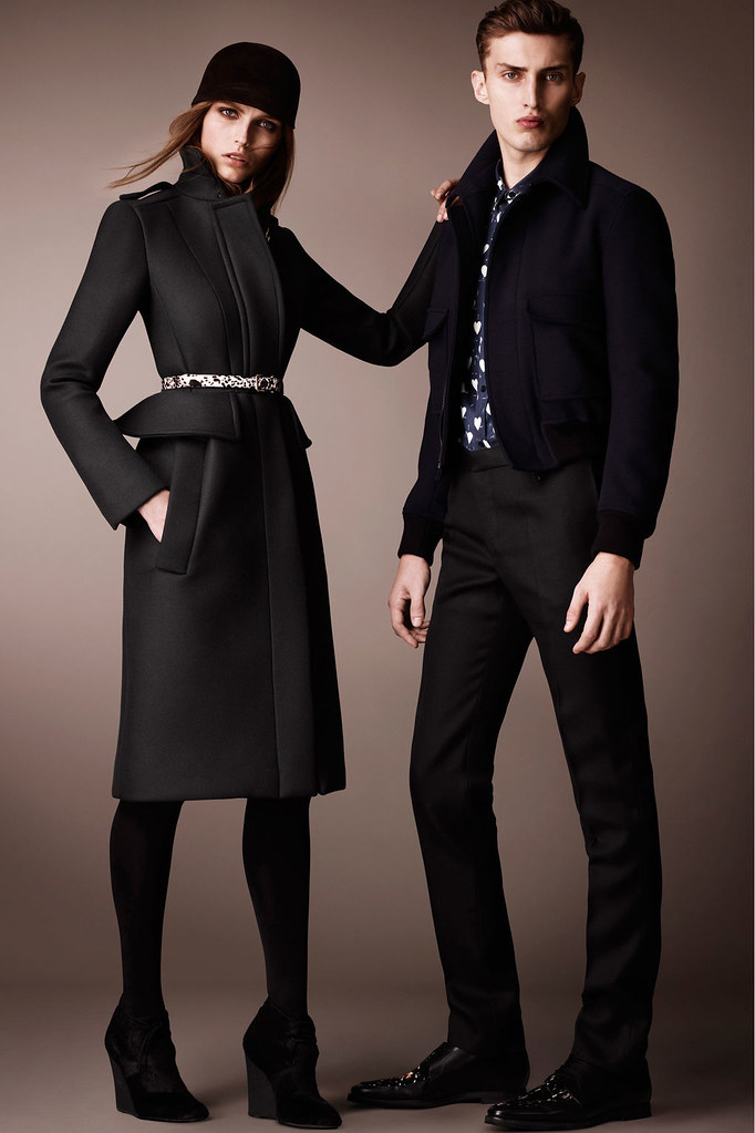 Charlie France0299_Burberry Prorsum's Pre-Fall 2013 Collection(Homme Model)