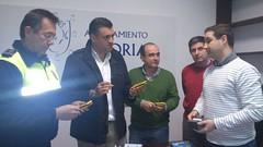 EL AYUNTAMIENTO DE CORIA FACILITA A POLICIA LOCAL, A TRAVÉS DE LA EXCMA. DIPUTACIÓN DE CÁCERES, CUATRO PDAs