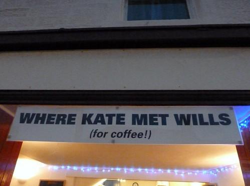 Where Kate met Wills, St Andrews