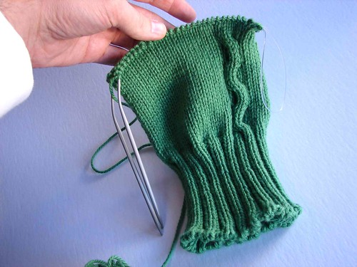 green armwarmers 2