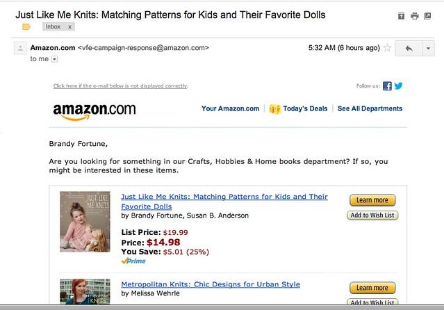 Amazon E-mail