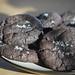 Small photo of Chocolate Caramel Cookies with Sea Salt