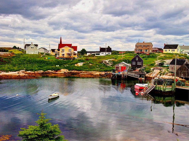 Peggys Cove HDR