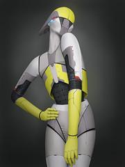 [フリー画像素材] グラフィック, イラスト・CG, ロボット ID:201212210000