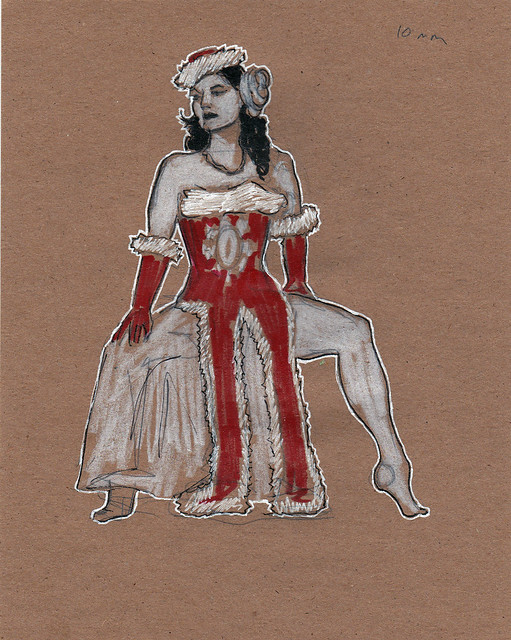 Dr Sketchy's DC with Cherie Sweetbottom 10 min
