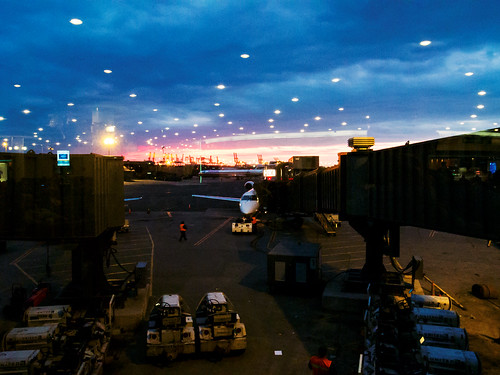 Newark Airport by Roni G