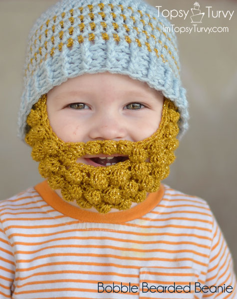 Beanie Hat With Beard Crochet Pattern Free : bobble-bearded-beanie-pattern-extra-small-medium-large-free