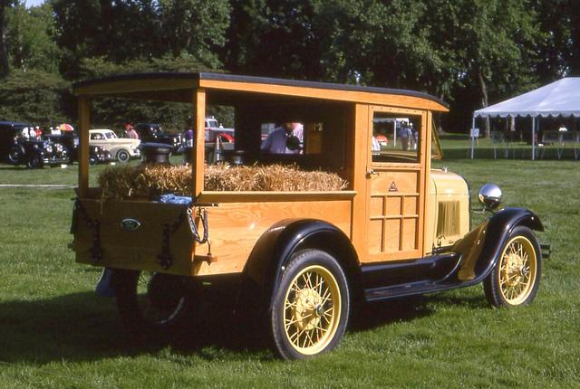 1929 Ford Model A Huckster wagon