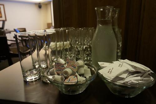 提供單品咖啡與茶@EA研討會