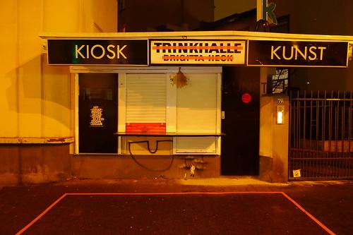 Kunstkiosk am Oeder Weg. Dezember 2012