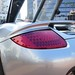 Porsche Carrera GT in GT Silver Metallic in Beverly Hills California Engine lid LED tail lamp