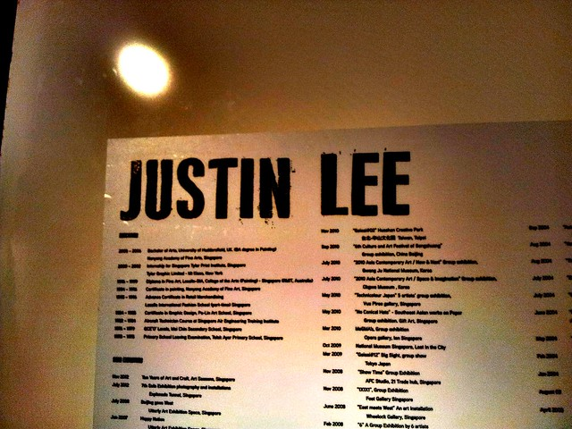 Justin Lee's 8th solo exhibition Show
