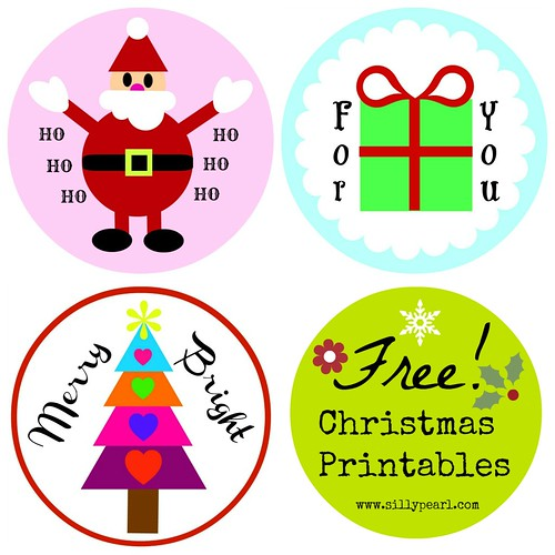 Free Christmas Printables by The Silly Pearl