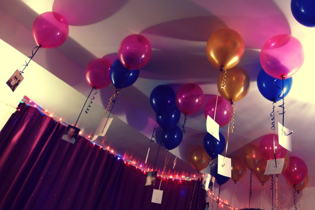 Pics for simple birthday decoration ideas at home for for 40th birthday decoration ideas