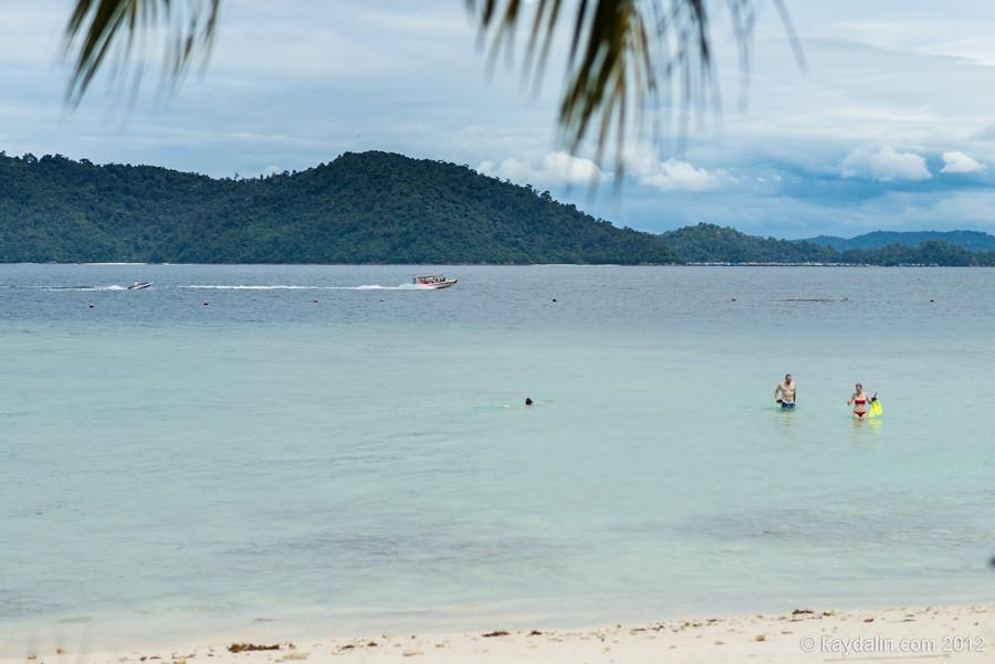 Мамутик, Борнео