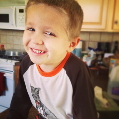 How can you not love this smile? Best little boy ever.