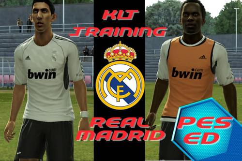Download Kits Training Real Madrid PES 2013