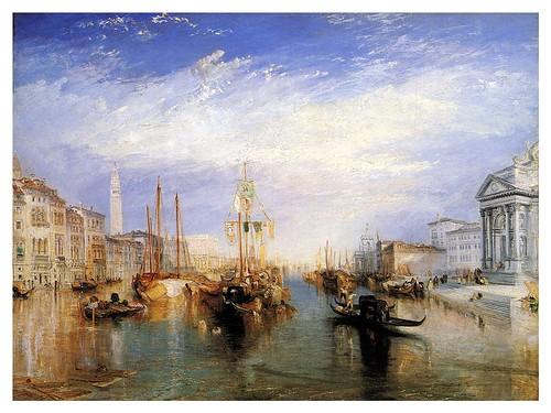 005- El Gran Canal de Venecia- J. M. W. Turner-pintura al oleo-Wikimedia Commons