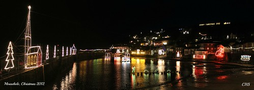 Mousehole, Christmas 2012 by Stocker Images