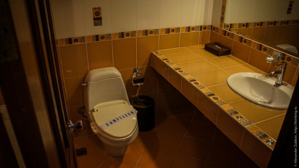 Ванная комната в номере отеля Boracay Garden
