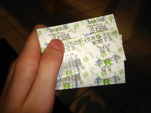 Les Mis Tickets