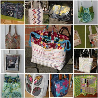Some of the Bags and Totes I made in 2012