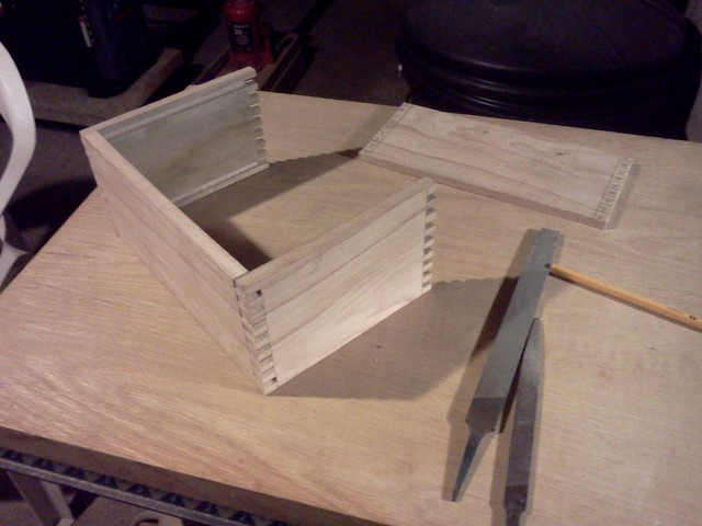 Thre sides cut on the latest box...