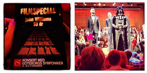 Resor 2012: Konsert i Göteborg