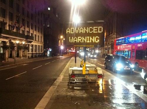 Advanced Warning