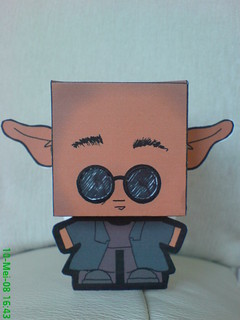 He's the one Papertoy (Morpheus)