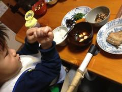 朝御飯 2012/12/30
